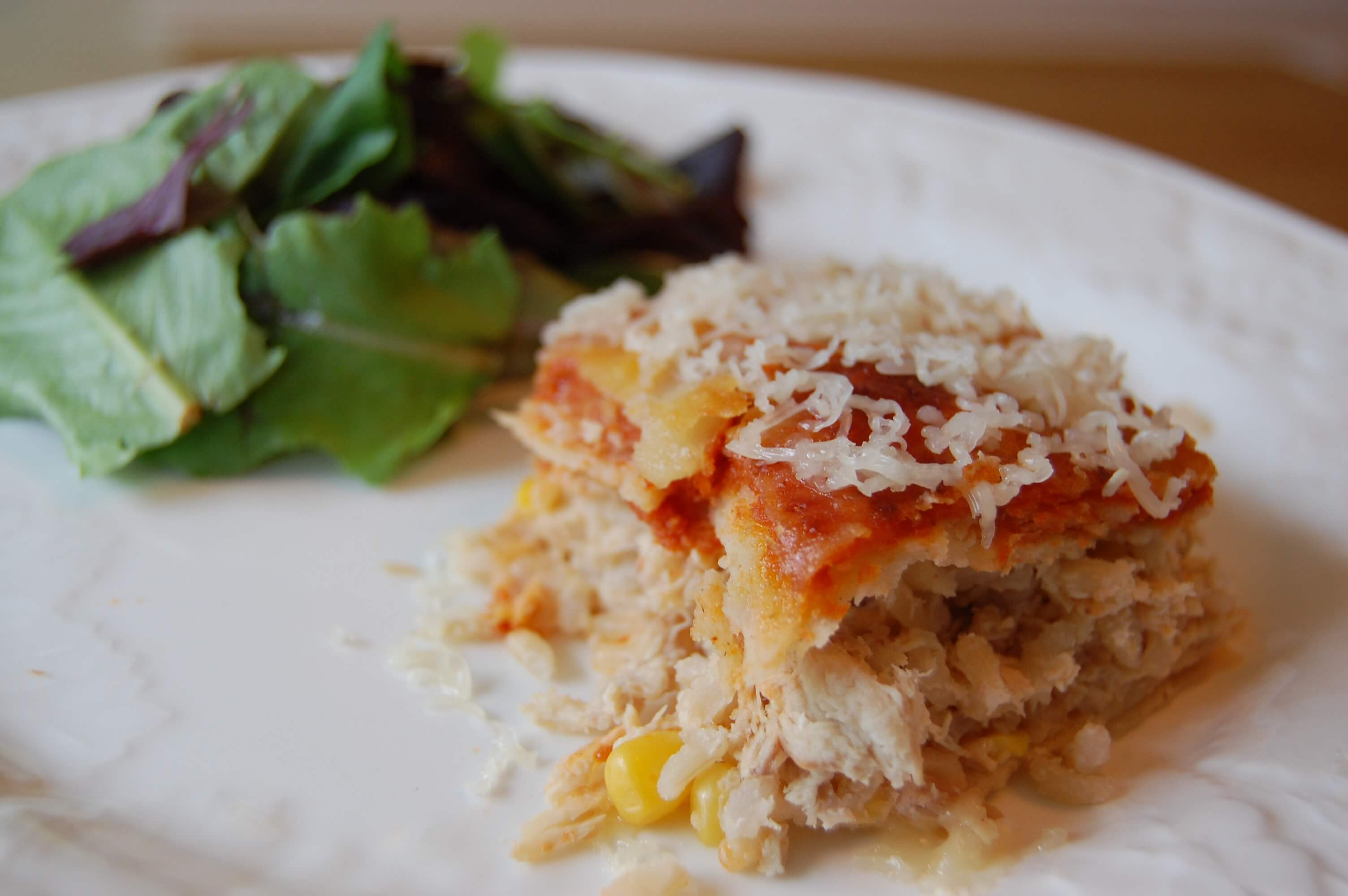 Recipe: Chicken Enchiladas (eat one casserole and freeze the other ...