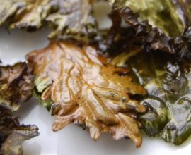 Kale Chips from 100 Days of Real Food