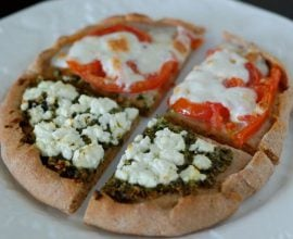 Whole-Wheat Pizza from 100 Days of Real Food