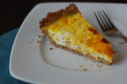 We Decided To Make Our Quiche Half Ham And Cheese Goat Tomato The Other Night But There Are Many