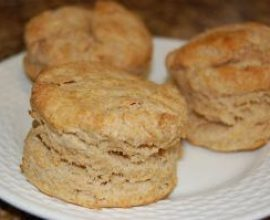 Super Easy Whole Wheat Biscuits