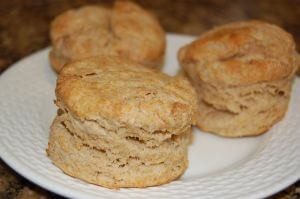 whole wheat biscuits by 100 Days of Real Foodwhole wheat biscuits by 100 Days of Real Food