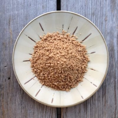 Homemade breadcrumbs on 100 Days of #RealFood