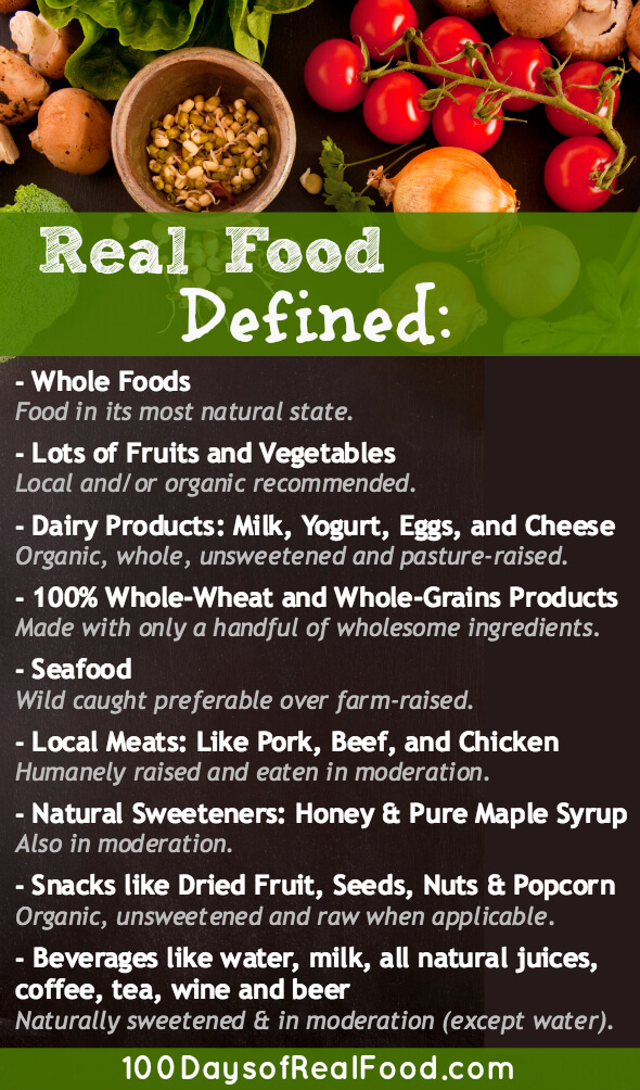 100 Days of Real Food Rules