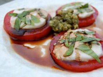 basil pesto on 100 days of real food