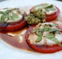 caprese salad 1 210x199 - Caprese Salad with Basil Pesto