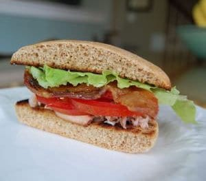 BLT with (or without) Crabmeat