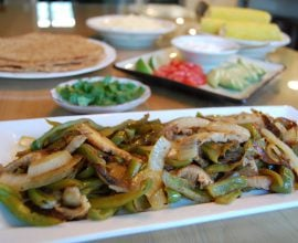 Fajitas from 100 Days of Real Food