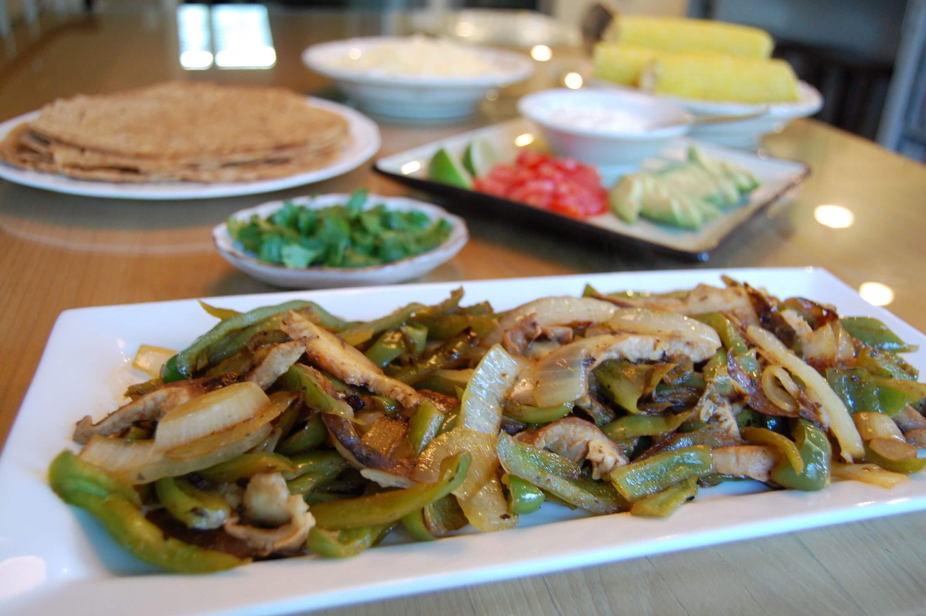 Fajitas from 100 Days of Real Food