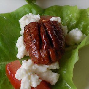 glazed nuts recipe on 100 Days of #RealFood