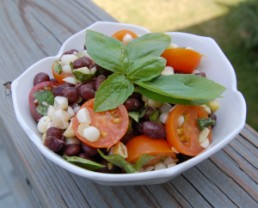 Recipe - Tomato, Corn & Black Bean Side Salad from 100 Days of Real Food