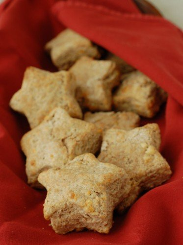Star Biscuits from 100 Days of Real Food