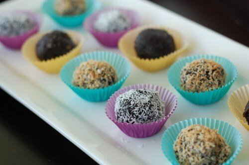 Chocolate Truffles Recipe from 100 Days of Real Food