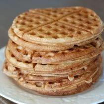waffle stack1 210x210 - Whole-Wheat Waffles