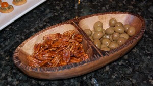Olives and Pecans