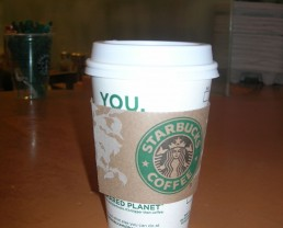 Day 94: Starbucks and Out to Lunch