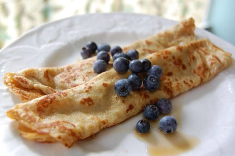 whole wheat crepes recipe on 100 Days of #RealFood
