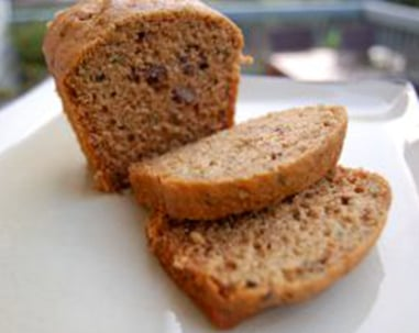 zucchini bread on 100 Days of Real Food