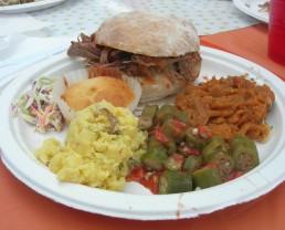 Farmers Market BBQ Plate