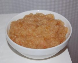 applesauce recipe on 100 Days of #RealFood