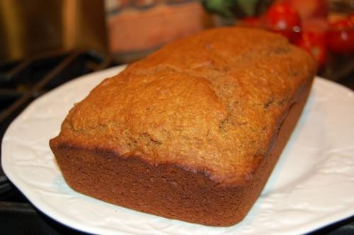 Whole Wheat Healthy Pumpkin Bread