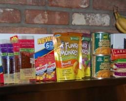 Prepackaged Snacks for School
