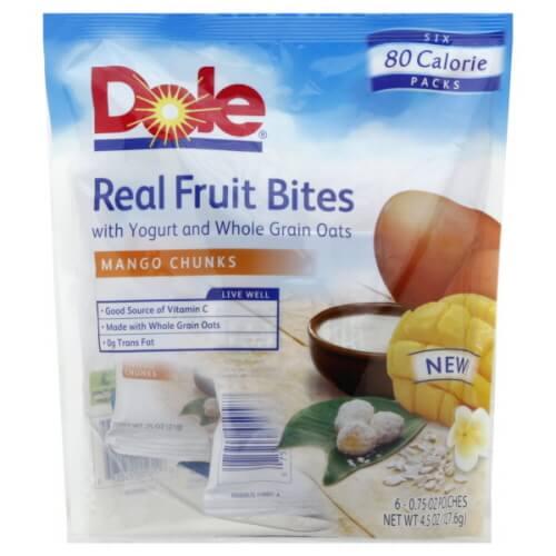 real fruit bites