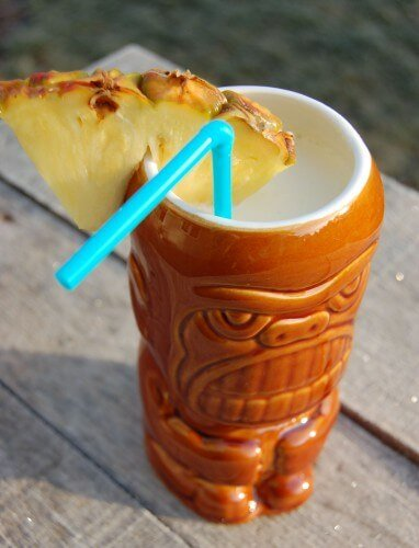 Recipe: (Virgin) Piña Colada Smoothie from 100 Days of Real Food