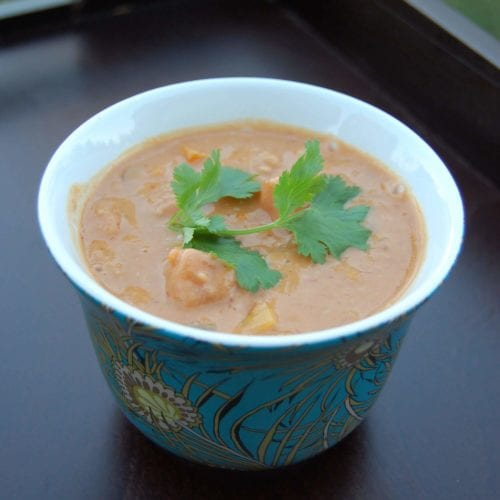 Peanut Squash Soup from 100 Days of Real Food