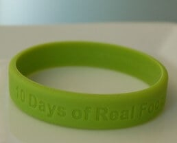 Feedback from Real Food Pledges