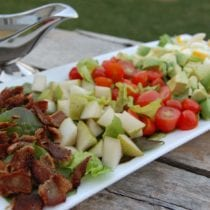 Cobb Salad 210x210 - Cobb Salad with Blue Cheese Dressing