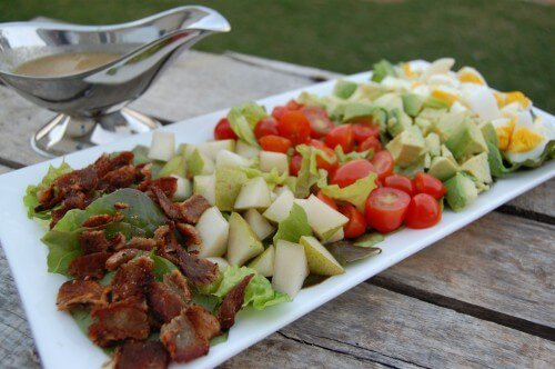 Recipe: Cobb Salad with Blue Cheese Dressing - 100 Days of Real Food
