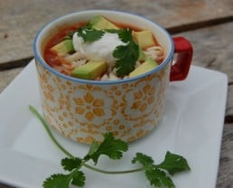 Recipe: Tortilla Soup - 100 Days of Real Food