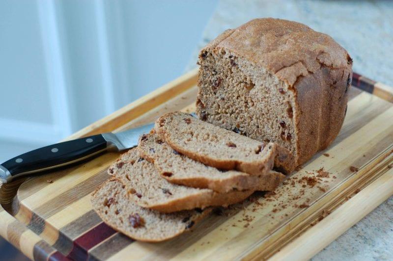 Cinnamon Raisin Bread from 100 Days of Real Food