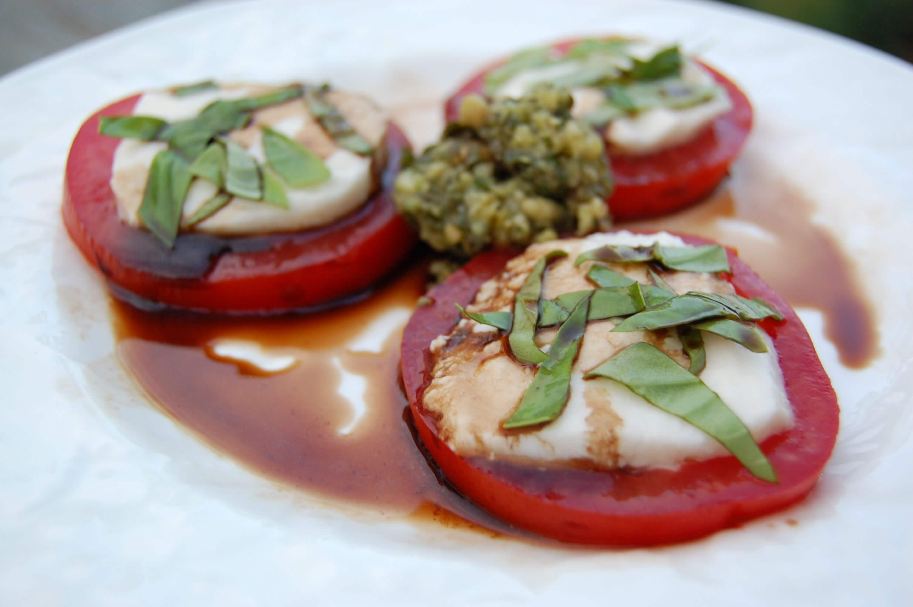 caprese salad - 100 Days of Real Food