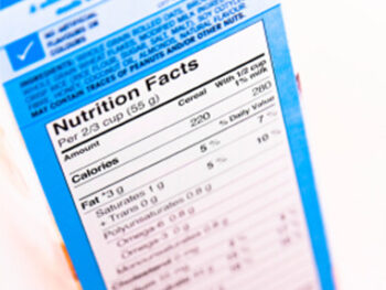 nutrition facts on 100 Days of Real Food