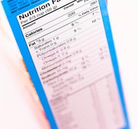 nutrition label 283x263 - Why the Five-Ingredient Rule