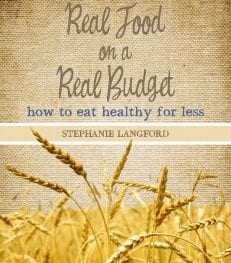 real food on a real budget 231x263 - E-book Giveaway: Real Food on a Real Budget