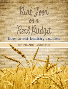 E-book Giveaway: Real Food on a Real Budget