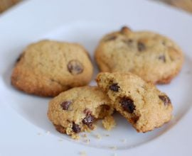 Whole-Wheat Chocolate Chip Cookies from 100 Days of Real Food