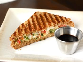 Grilled Caprese Sandwich 350x263 - Sandwich inspiration (and my view on lunch meat)