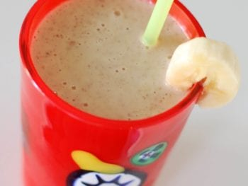 Peanut Butter Banana Smoothie 350x263 - Peanut Butter Banana Smoothie