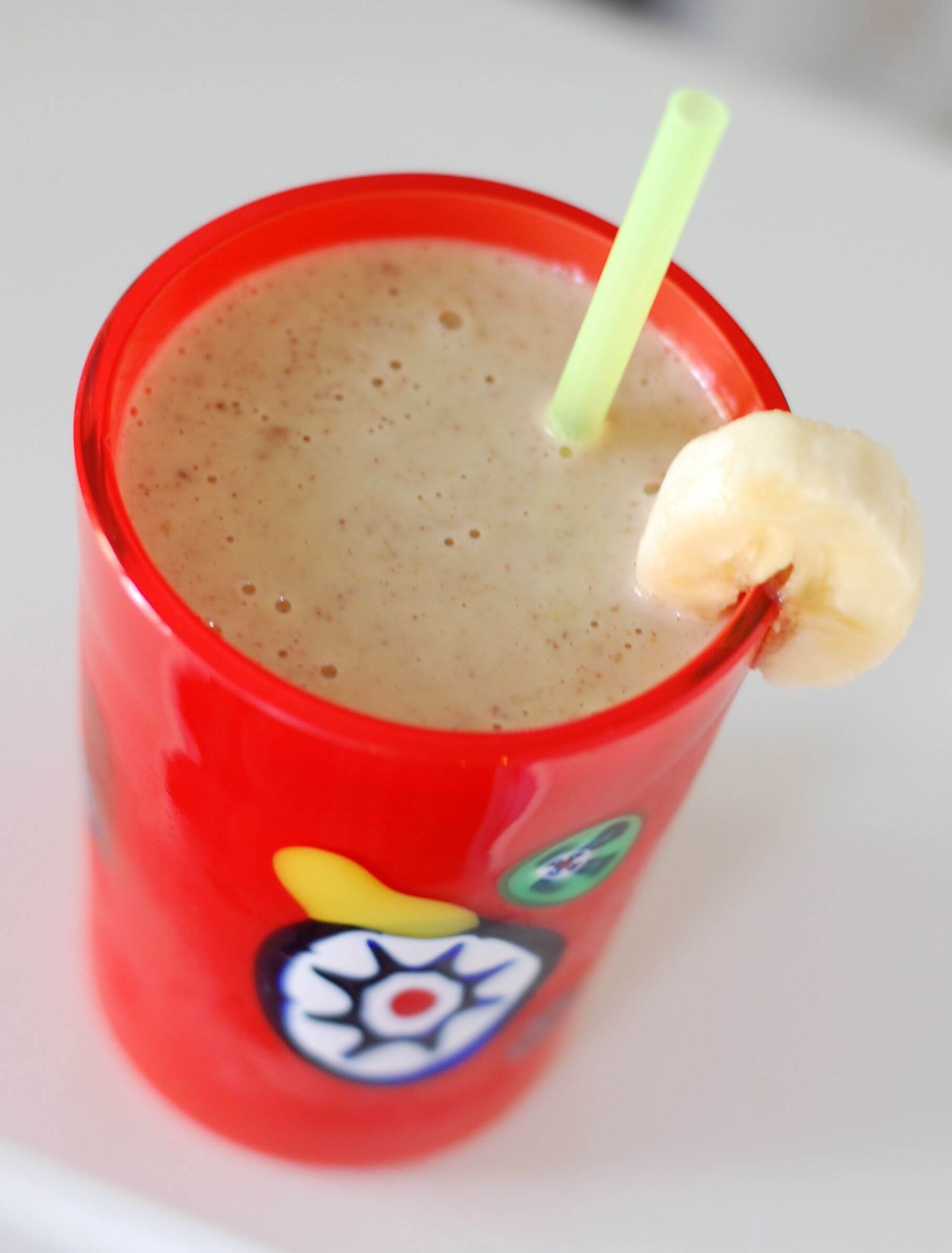 Recipe: Peanut Butter Banana Smoothie - 100 Days of Real Food