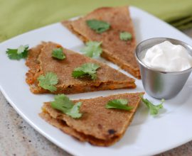 Quesadillas from 100 Days of Real Food