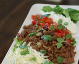 Recipe - Taco Salad from 100 Days of Real Food