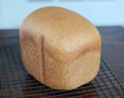 Honey Whole Wheat Sandwich Bread from 100 Days of Real Food