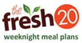 "Giveaway: Two 6-Month Meal Plans from ""The Fresh 20"""