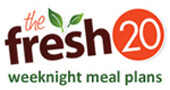 """Giveaway: Two 6-Month Meal Plans from """"The Fresh 20"""""""