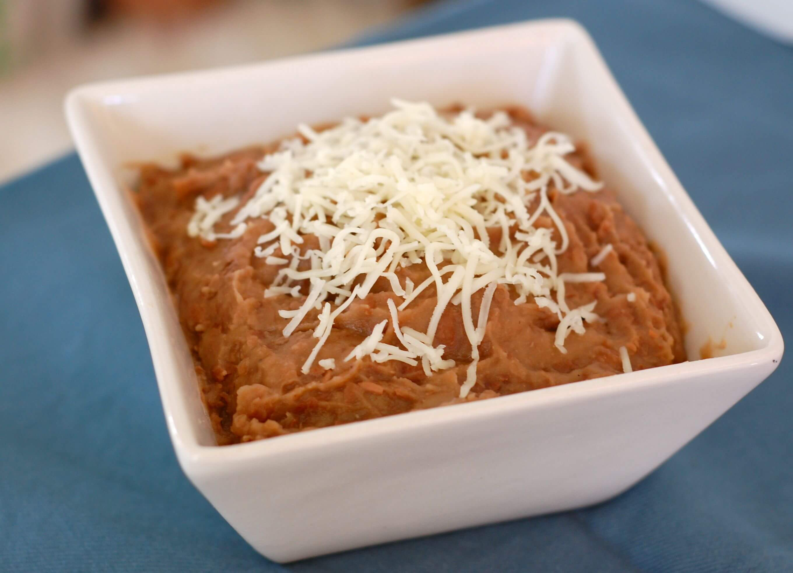 Recipe: Easy Slow Cooker Refried Beans - 100 Days of Real Food