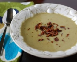 Recipe Easy Split Pea Soup from 100 Days of Real Food